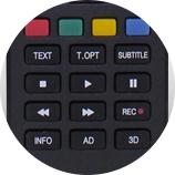 Régler votre télévision - Télécommande universelle LG