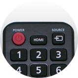 Des boutons essentiels - Télécommande universelle Samsung
