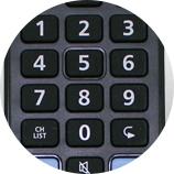 Navigation rapide - Télécommande universelle Samsung