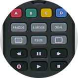 Paramétrage - Télécommande universelle Samsung