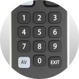 Des boutons utiles - Télécommande universelle Numericable