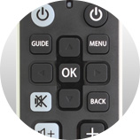 Informations et navigation Télécommande universelle Freebox