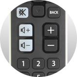 Des boutons pratiques - Télécommande universelle Free