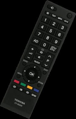 Image de télécommande Toshiba