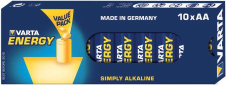 VARTA Pile alcaline 'Energy', Mignon (AA/LR6)