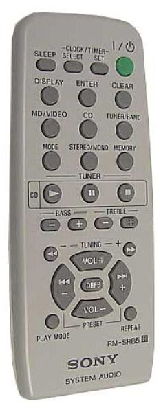 RM-SRB5 Télécommande officielle