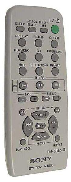 Télécommande SONY RM-SRB5