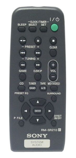 RM-SR210 Télécommande officielle