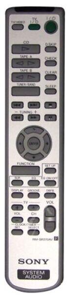 RM-SR370AV Télécommande officielle