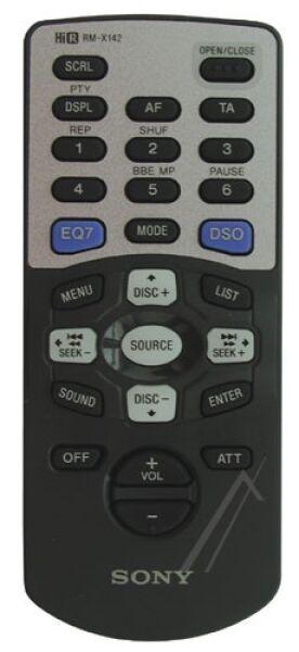Télécommande SONY RM-X142