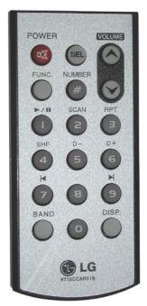 Télécommande LG 6710CCAR01B