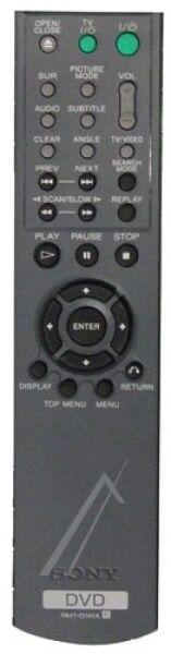 Télécommande SONY RMT-D141A