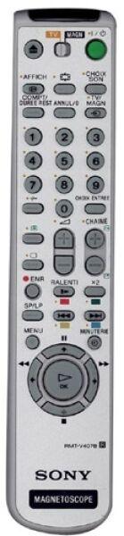 RMT-V407B Télécommande officielle