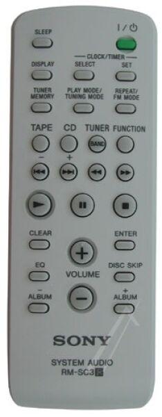 Télécommande officielle RM-SC3