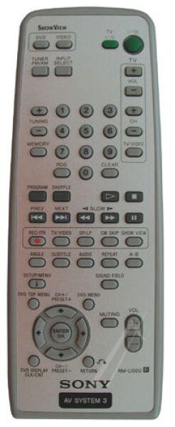 RM-U500 Télécommande officielle
