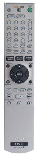Télécommande SONY RMT-D217P