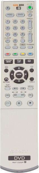 Télécommande SONY RMT-D222P