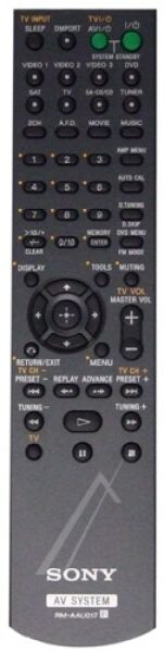 Remote  (RM-AAU017)