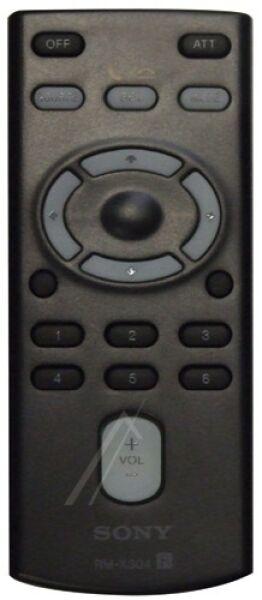 Télécommande SONY RM-X304