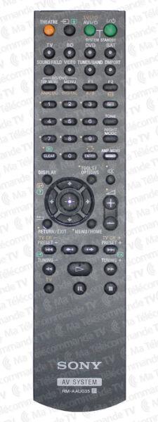 Télécommande officielle RMAAU035