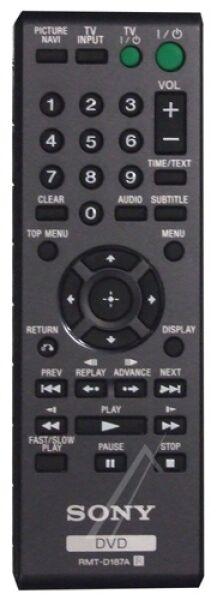 Télécommande officielle (RMT-D187A)