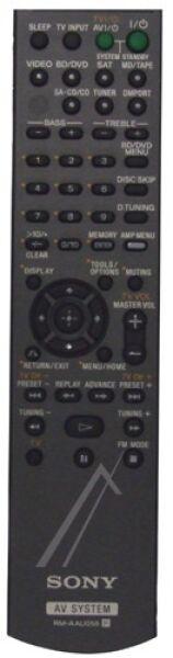 Télécommande SONY RM-AAU055