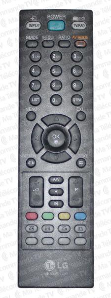 Télécommande LG AKB33871409