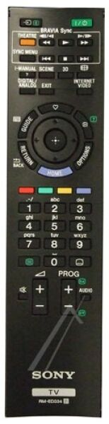 Télécommande SONY RM-ED034