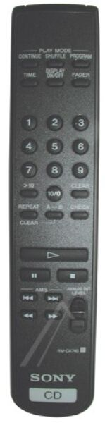 Télécommande SONY RM-DX740