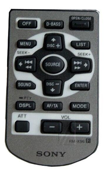 Télécommande SONY RM-X96