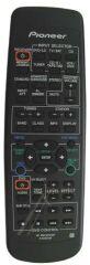 Télécommande PIONEER XXD3039