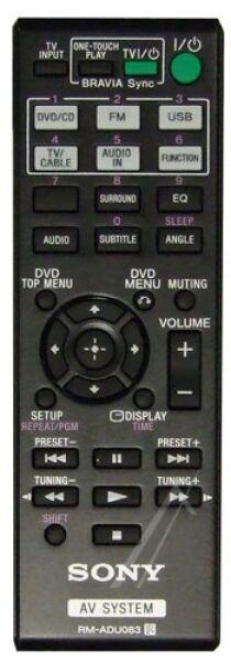 Télécommande SONY RM-ADU0083