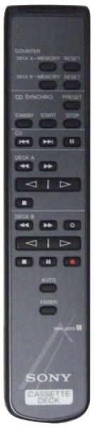 Télécommande SONY RM-J920