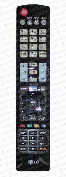 Télécommande LG AKB73615302