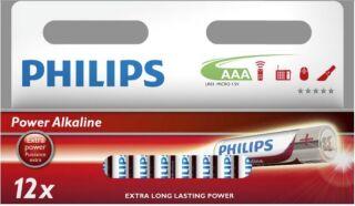 12 Piles Alcalines AAA ++