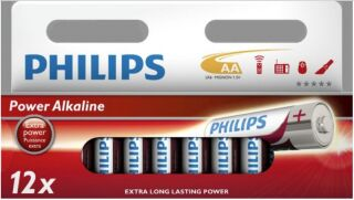 12 Piles Alcalines AA ++