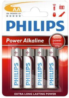 4 Piles Alcalines AA ++