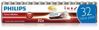 32 Piles Alcalines AA ++